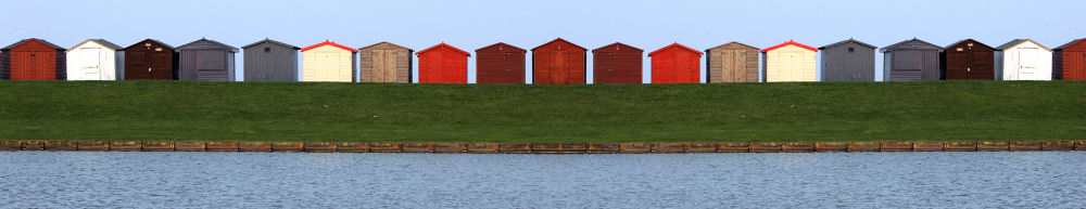 Dovercourt beach huts