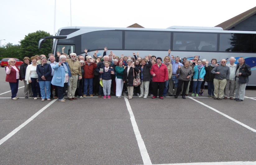 The Frankenberg group wave goodbye after their 2016 visit