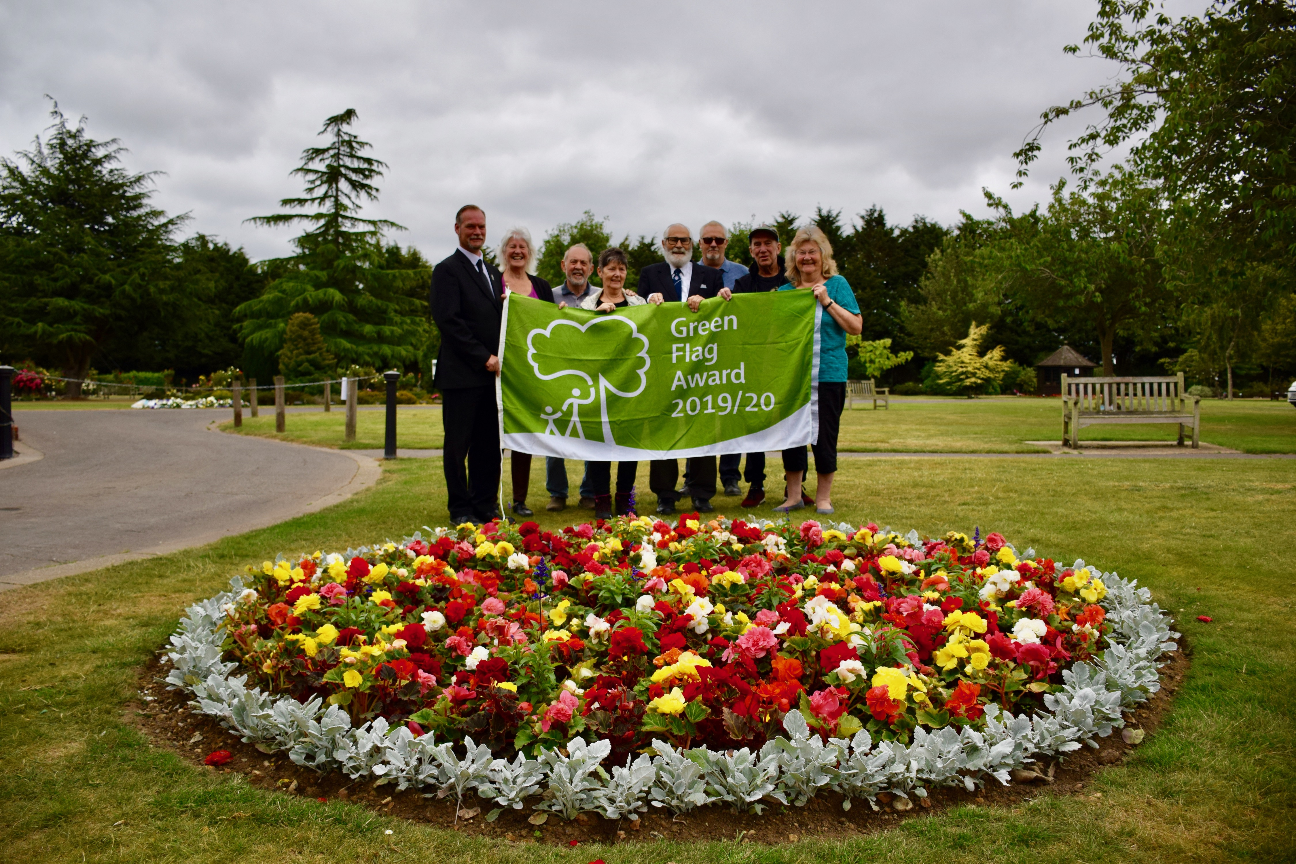 Weeley Crematorium 2019/20 Green Flag Award