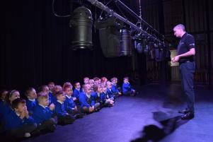 Burrsvile Infants visit Princes Theatre