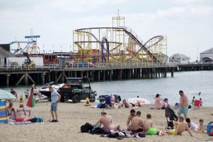 Beach, Pier and Beach Patrol