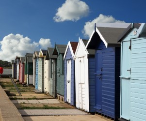 Brightlingsea Beach Huts - Photography by Paul Nixon