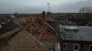 Demolition begins at Honeycroft