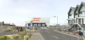 Design for new Jaywick Sands workspace