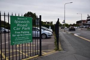 Ipswich Road car park