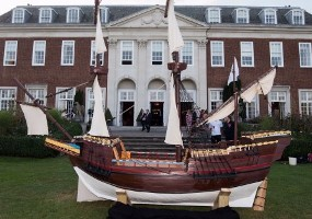 Mayflower replica at Winfield House in London