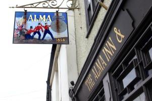 The Alma Pub in Harwich