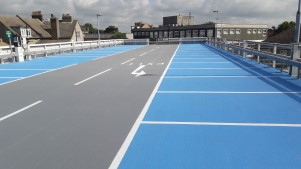 Resurfacing completed at Clacton multi storey car park