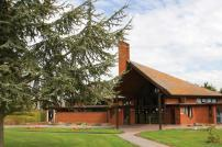 Picture of the Front of Weeley Crematorium