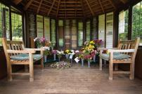 Picture of Inside Summer House at Weeley Crematorium