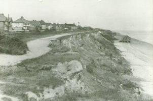 1939 Kings Parade, Holland-on-sea houses and infrastructure constructed before the sea defences