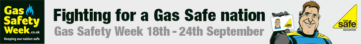 Gas safety week 18th to 24th September
