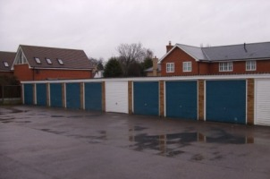 Photograph of Mary Warner Road Garages