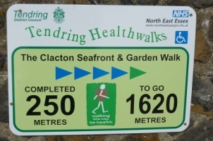 Marker for Clacton Seafront and Garden Walk
