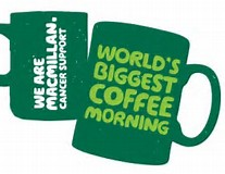 Macmillan Cancer Support world's biggest coffee morning