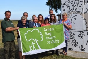 Cliff Park Dovercourt 2018/19 Green Flag Award