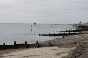 Photo of Harwich Lighthouse and Beach by Mark Thomson
