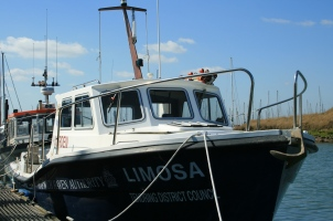 nature warden's boat The Limosa
