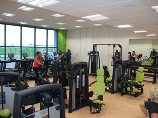 Gym at Dovercourt Bay Lifestyles