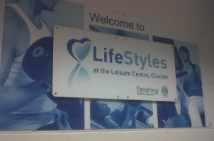 LifeStyles Sign at Clacton Leisure Centre