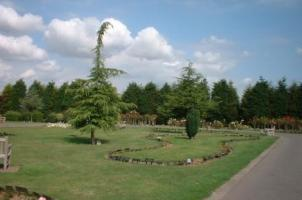 The gardens at Weeley Crematorium
