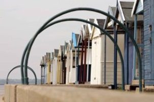 Beach Huts at Brightlingsea