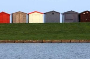 Beach Huts at Dovercourt
