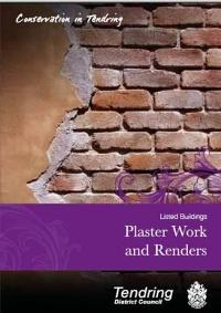 Listed Buildings - Plaster Work and Render Guidance Leaflet