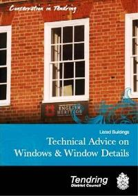 Listed Buildings - Technical Advice on Windows and Window Details