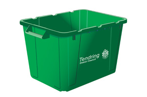 Green recycling box information