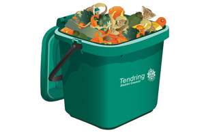 Food waste caddy information
