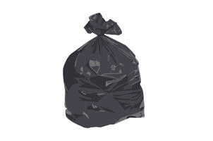 Black refuse sack information