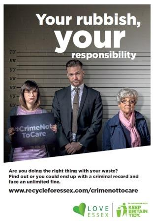 crime not to care - your rubbish your responsibility