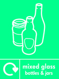 mixed glass recycling