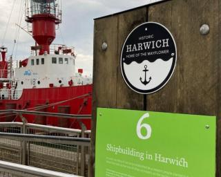 Harwich mayflower checkpoint 6 - Shipbuilding