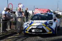 Councillor Mick Skeels, Tendring District Council Cabinet Member for Leisure and Tourism, starts the Corbeau Seats Rally Tendring and Clacton 2018