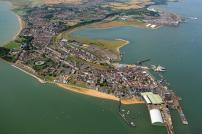 Harwich from above