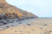 Naze cliffs and beach