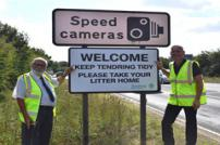 A133 Littering signs