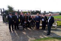 Attendees at the Battle of Britain memorial service at Clacton War Memorial