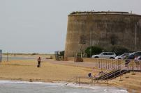One of Clacton's Martello towers