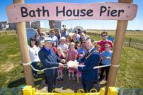 Cllr Eddie Johnson and Cllr Mark Platt open the play area