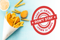 Don't Stay Take it Away campaign image