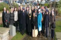 Councillor Mark Platt attended the Holocaust Memorial Day in 2018.