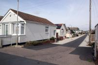 A typical street in the Brooklands area of Jaywick Sands
