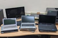 Old IT equipment from Tendring District Council
