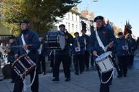 Last years parade passing through the town centre