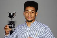 Rio Gordon with his trophy