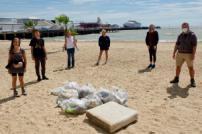 TDC Staff Beach Clean