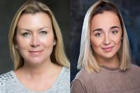 Tricia Penrose (left) and Lauren Platt (right) are starring in Beauty and the Beast